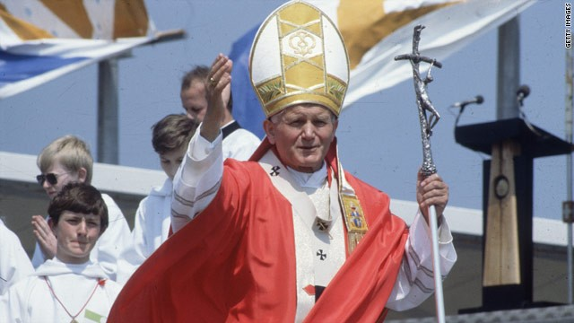 John Paul II on fast track to sainthood