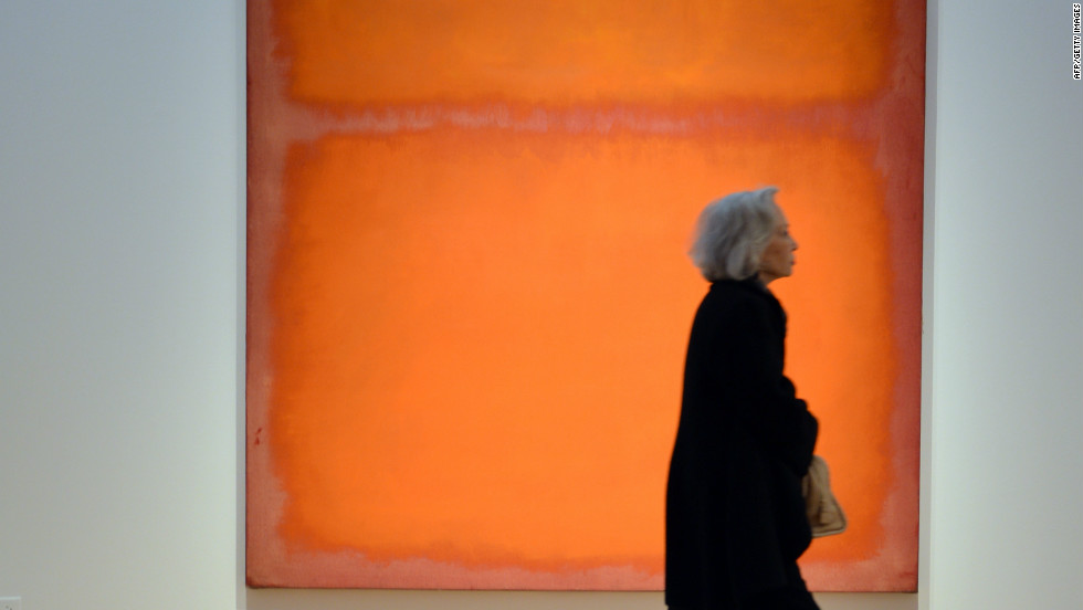 "Mark Rothko's 1961 piece ""Orange, Red, Yellow"" was sold in 2012 for $87 million."
