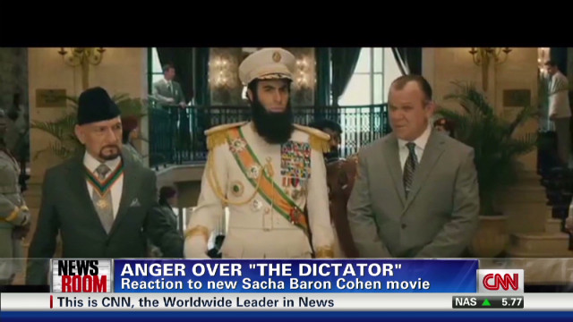 "Anger over ""The Dictator"""