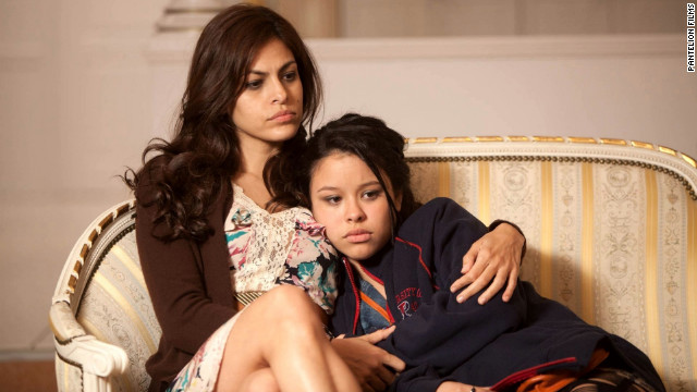 "Eva Mendes and Cierra Ramirez star in ""Girl in Progress."""