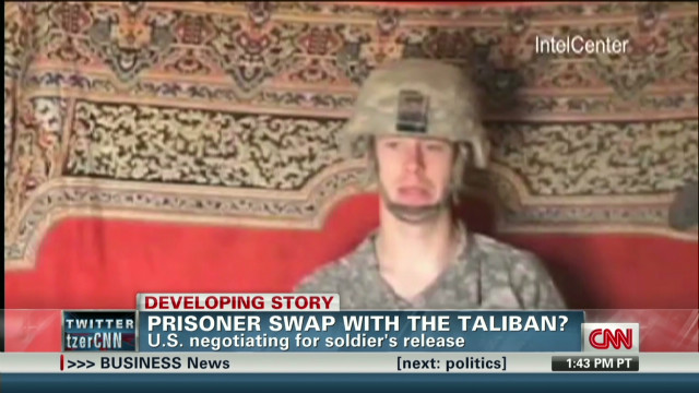 Will US swap Taliban for solider? _00002305