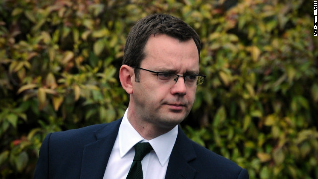 Former News of the World editor Andy Coulson resigned as British PM David Cameron's communications chief last year.