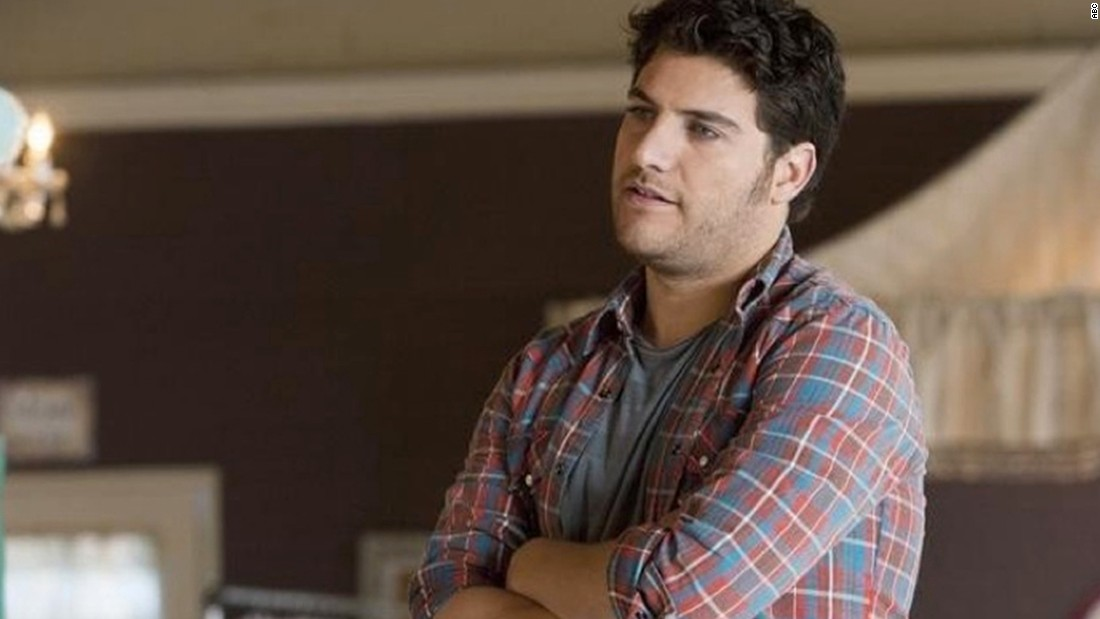 "Max Blum, played by Adam Pally, is openly gay. His friends persuade him to come out to his parents during the first season of ""Happy Endings."""