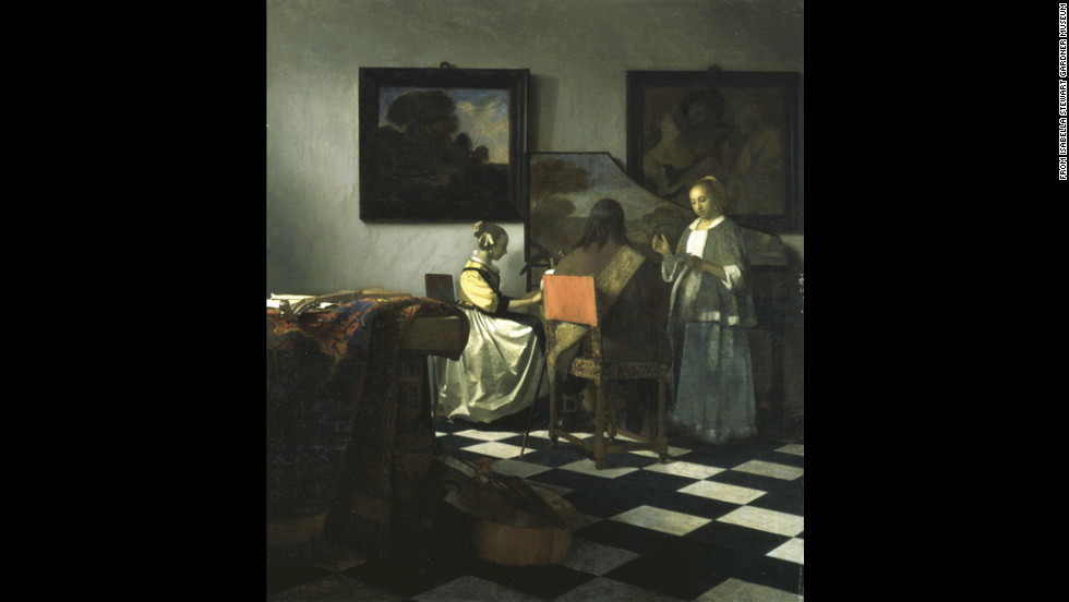 """The Concert"" by Vermeer"