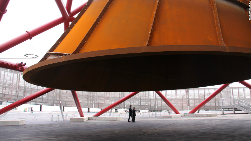 It also features a large trumpet-like structure at the base.