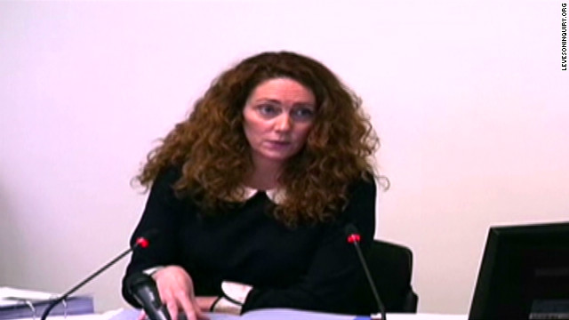 Amanda Brooks testifies before an inquiry on May 11