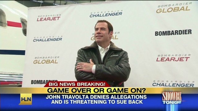John Travolta slapped with lawsuit