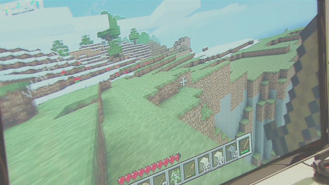Building a New World with Minecraft