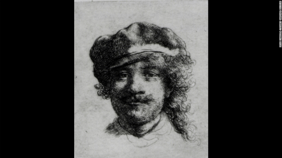 """Self-Portrait"" by Rembrandt"