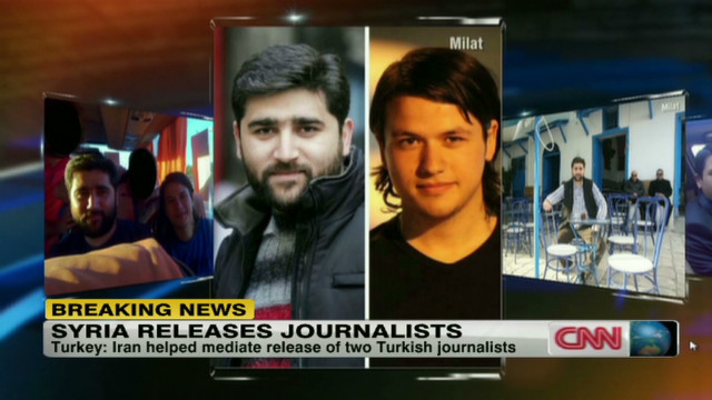 Syria releases journalists