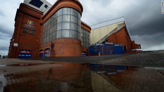 Scottish club Rangers' slide into administration in February was related to an unpaid tax bill.