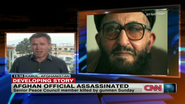 Afghan peace council member killed