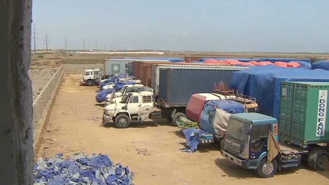 NATO supplies stranded in Pakistan