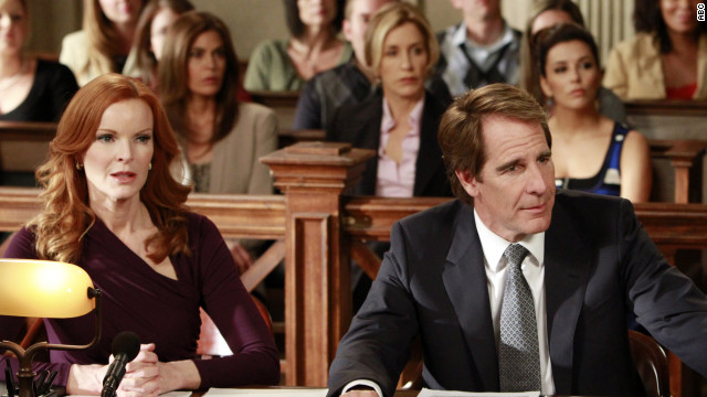 "The ""Desperate Housewives"" series finale  aired on Sunday."
