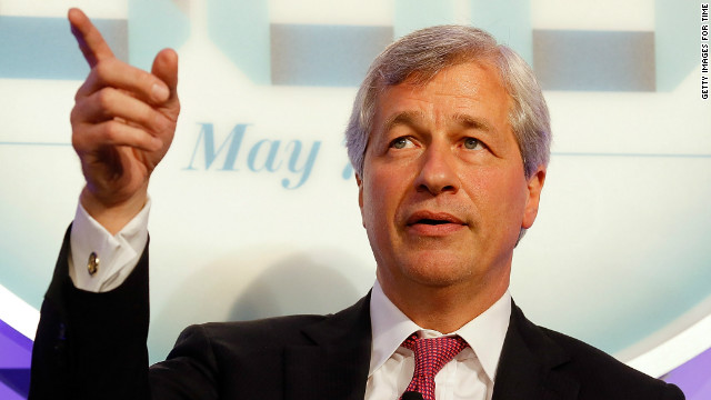 Jamie Dimon is the chief executive officer of JPMorgan Chase.