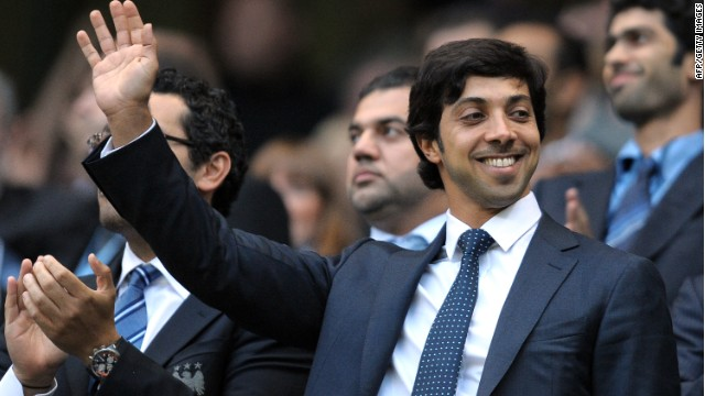 Man City owner Sheikh Mansour bin Zayed Al Nahyan