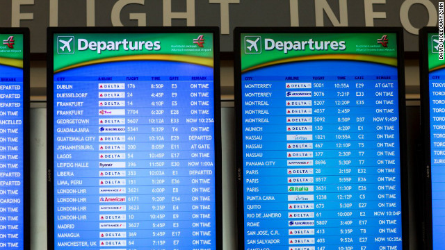 New international Terminal at Atlanta Airport