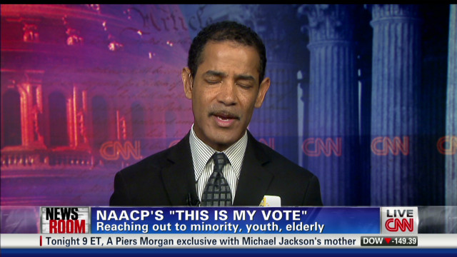 NAACP: A lot at stake in 2012 election
