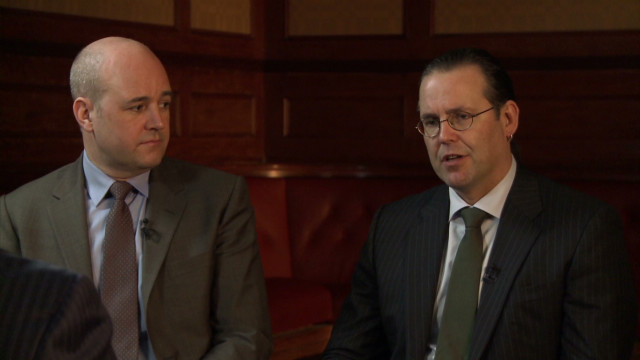 qmb intv reinfeldt and borg on euro debt crisis_00000318