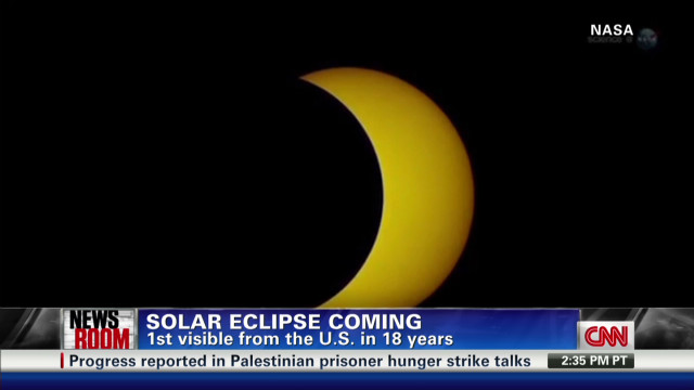 Solar eclipse coming this weekend