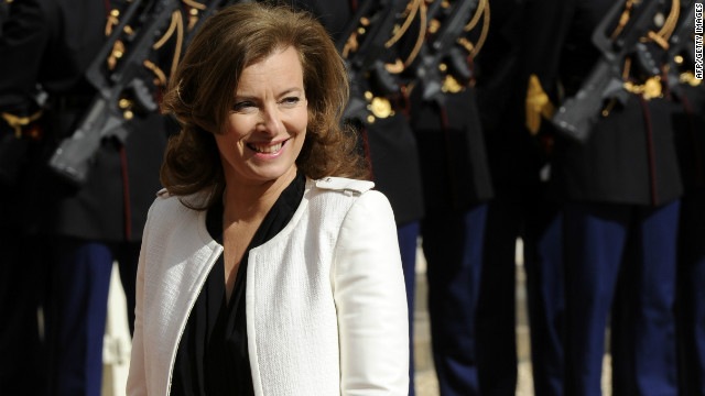 France's first lady hospitalized