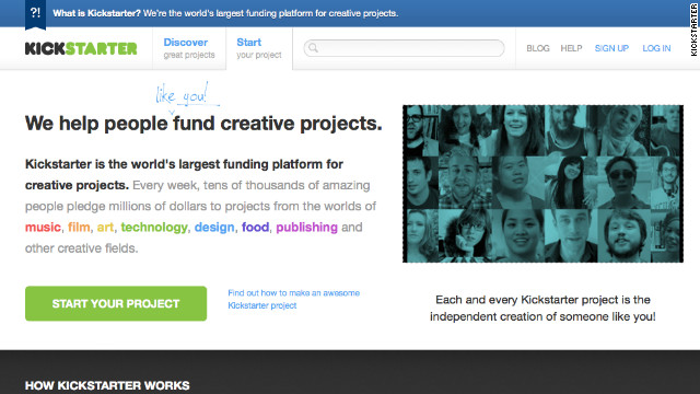 Kickstarter says its donors need to weigh the reliability and honesty of the person they are pledging money to.
