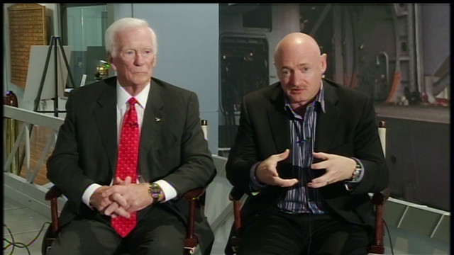 Astronauts reflect on NASA