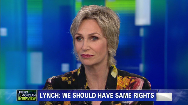 Jane Lynch on Obama's support