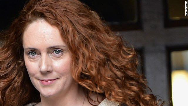 "Rebekah Brooks ""answered bail"" at Lewisham police station in London on Thursday,  police said."