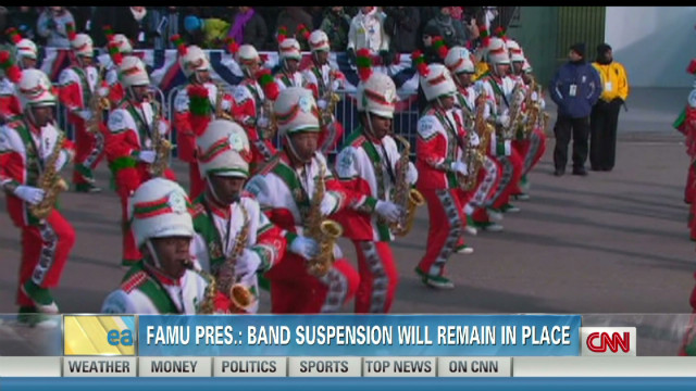 FAMU band suspended into 2013