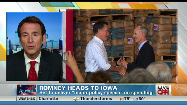 Pawlenty:Romney respects private economy