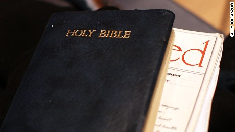 The Bible isn't always easy-reading, as Laura Bernardini has found.