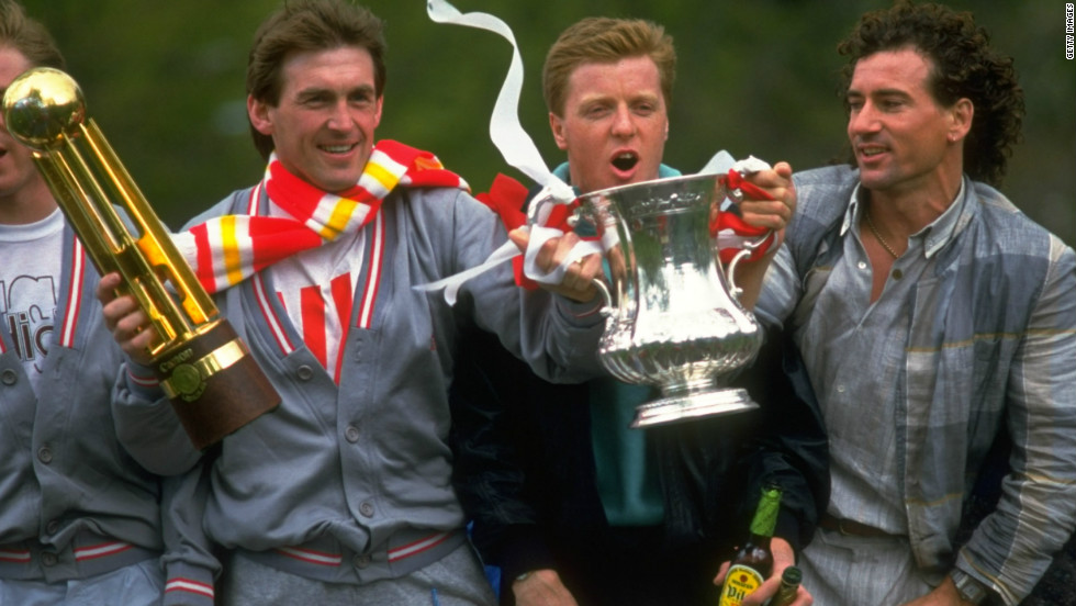 Dalglish's first spell as Liverpool manager was between 1985 and 1991, including a period as player manager. He guided the team to three First Division titles and two FA Cup triumphs, including a league and cup double in 1986.