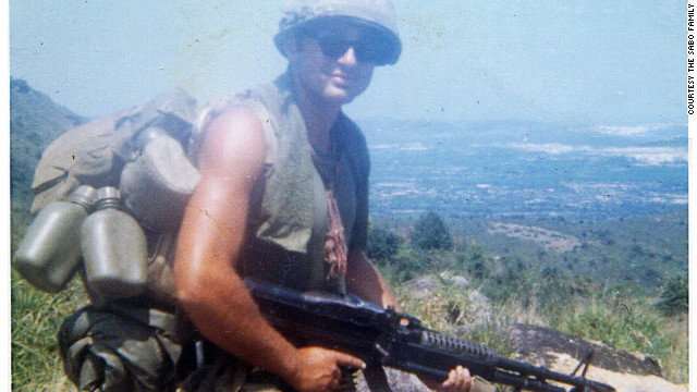 Photo of Specialist Leslie Sabo, Jr in either Vietnam or Cambodia in 1969/1970. Sabo will posthumously receive the Medal of Honor from President Obama on May 16, 2012