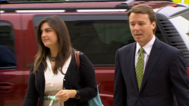 Why didn't John Edwards take the stand?