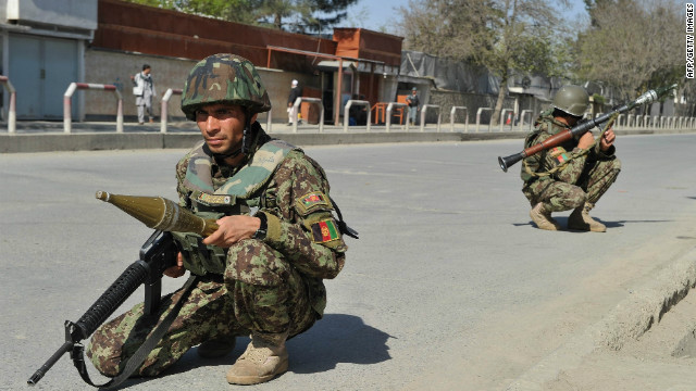Afghan security forces will now be responsible for 75% of the country's population, with ISAF forces in a support role only.
