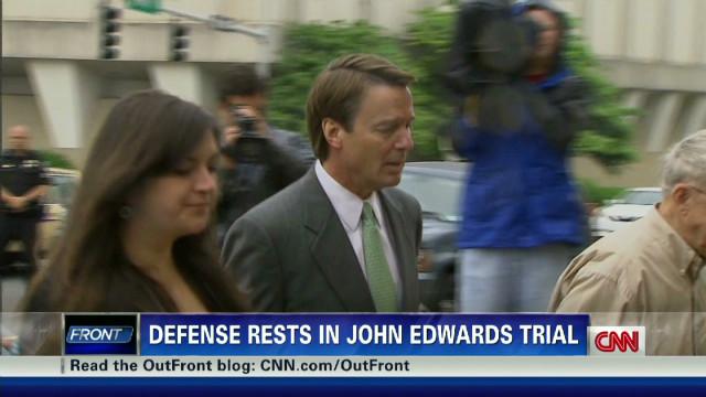 Edwards defense rests