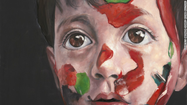 """Syrian Child"" by Abdalla Omari of Syria"