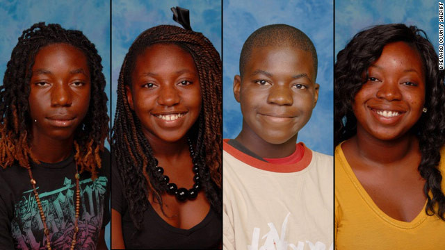 Tonya Thomas shot her four children to death before killing herself, police in Florida say.
