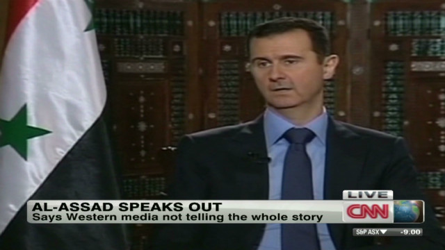Syria's Assad accuses media of bias