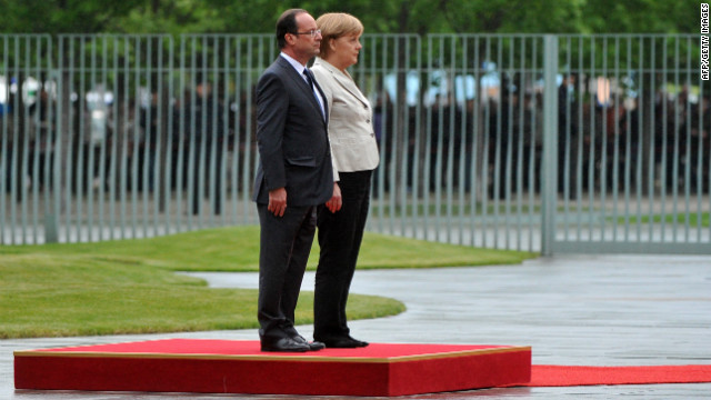 Merkel and Hollande's differing views on how to spur growth is the greatest hurdle to solving the euro crisis, writes Spiro.