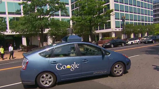 Google's self driving Prius