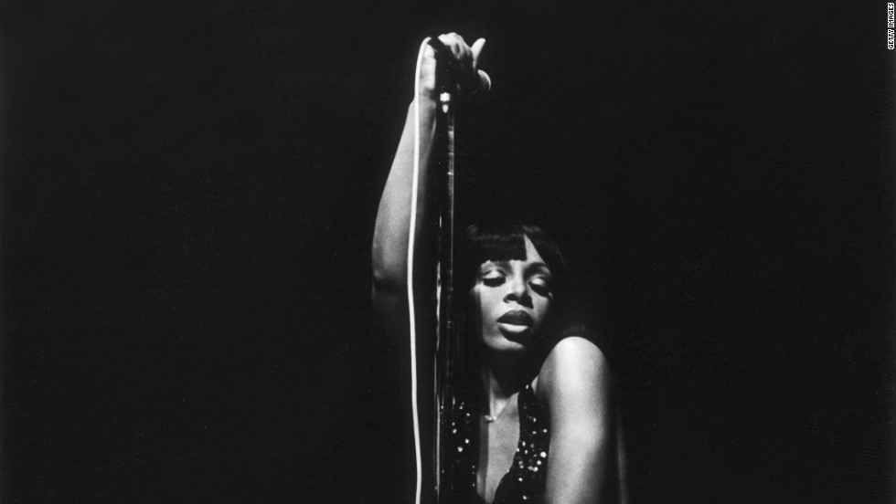 Summer performs in Washington in 1978.
