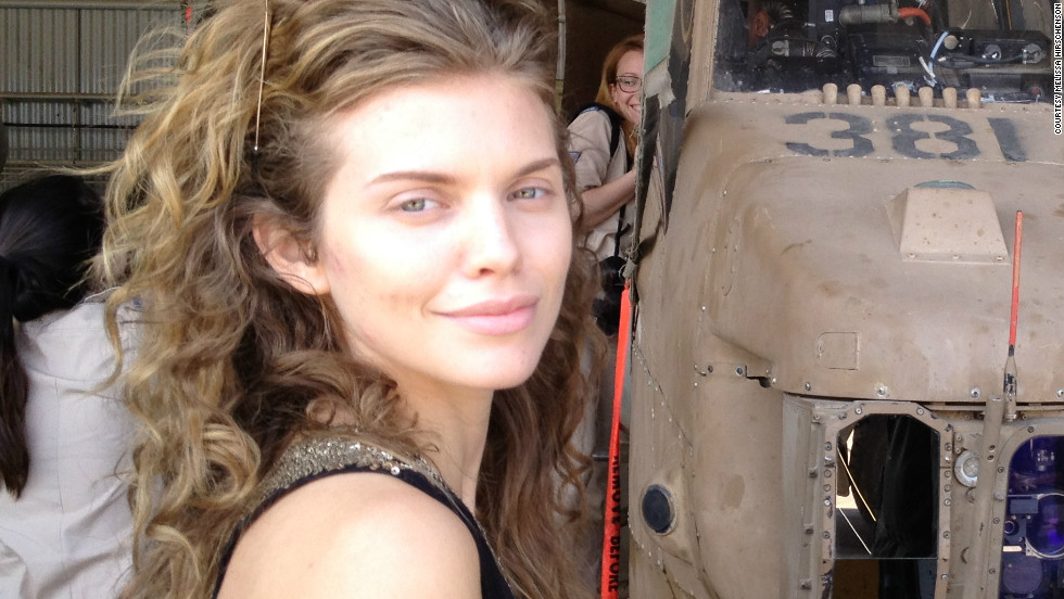 "AnnaLynne McCord didn't wear much makeup while visiting Israel in May 2012. She was later <a href=""http://www.cnn.com/2012/05/18/showbiz/celebrity-news-gossip/celebrity-makeup-free/index.html"">praised for tweeting</a> a makeup-free picture after tabloids criticized her skin."