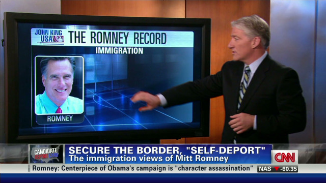 Romney's record on immigration