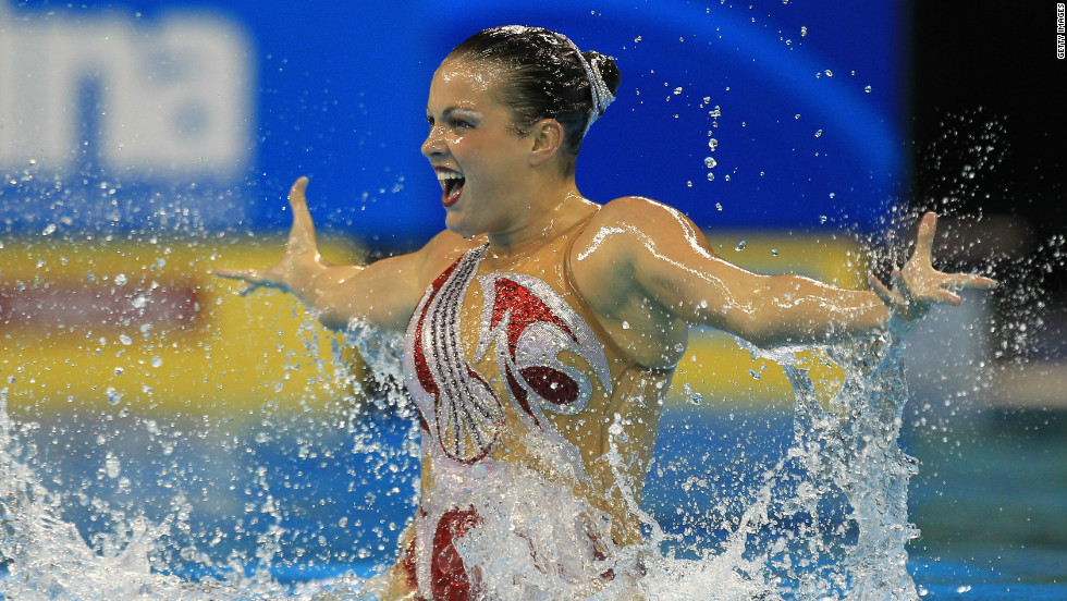 Mary Killman will be the youngest member of the U.S. synchronized swimming team at the London 2012 Olympics.