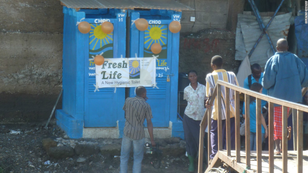 Sanergy aims to generate fertilizer from human waste and bring clean sanitation facilities to the slums of Nairobi, Kenya.