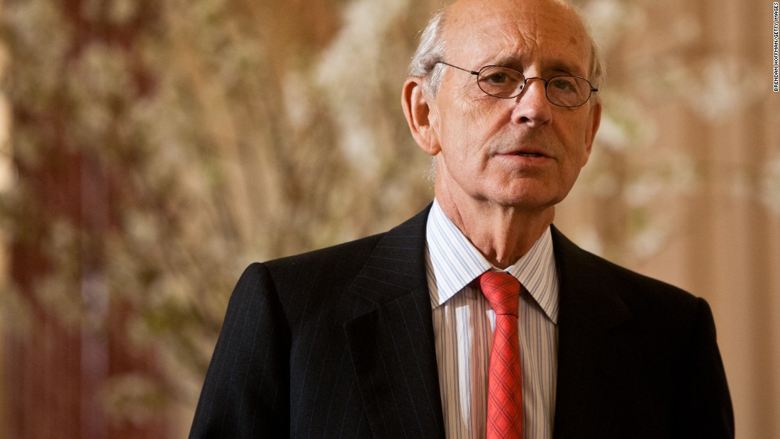 <strong>Stephen Breyer</strong> was appointed by Clinton in 1994 and is part of the court's liberal wing.