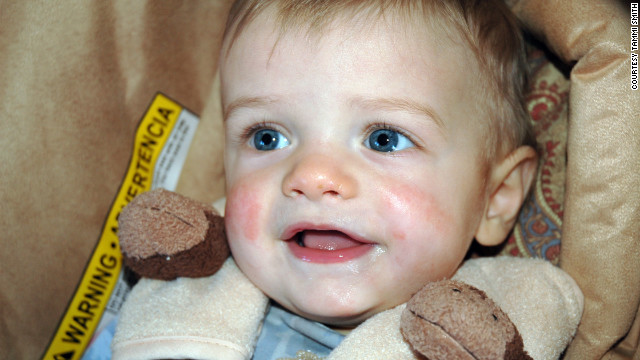 Gabriel Johnson was 8-months-old when he was last spotted alive.