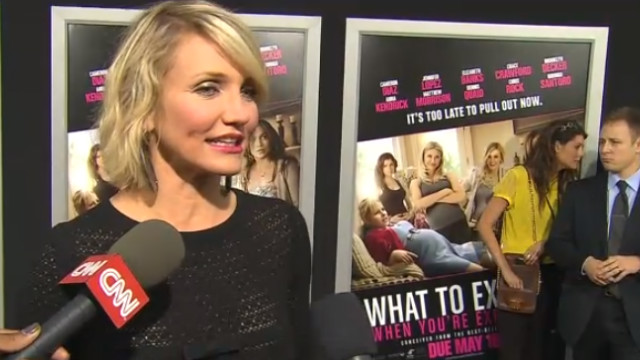 Cameron Diaz explains her 'fake boobs'